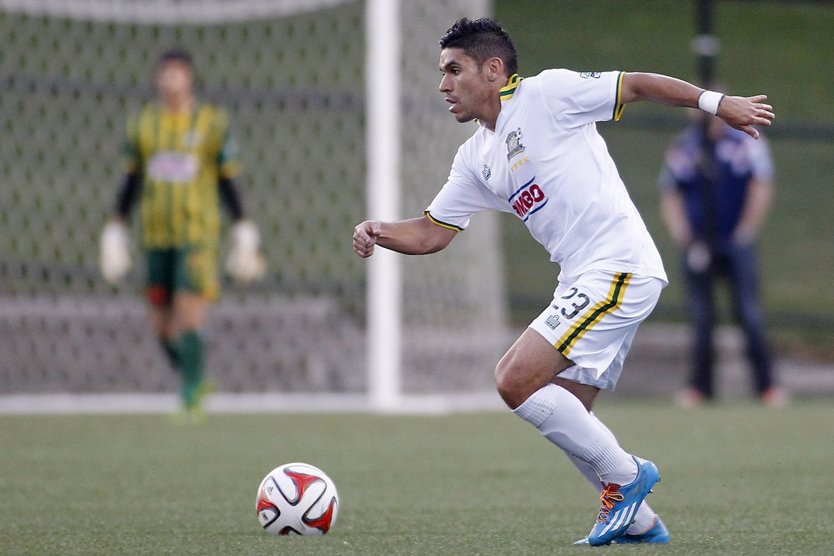 Johnny Mendoza created a number of goals from set pieces for Rochester on Friday.