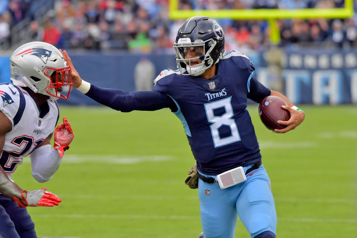 f5ef3b12 Keeping Up With Marcus Mariota: Week Ten, 2018 - Music City Miracles