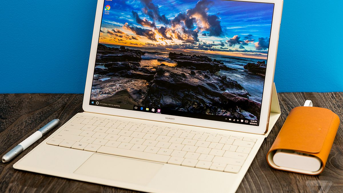 Huawei Matebook Review This Tablet Wants To Be A Pc But Misses The Basics The Verge
