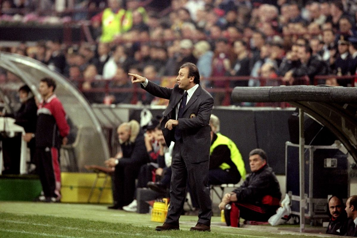 Zaccheroni directing traffic as AC Milan and Chelsea play out 1-1 draw in 1999