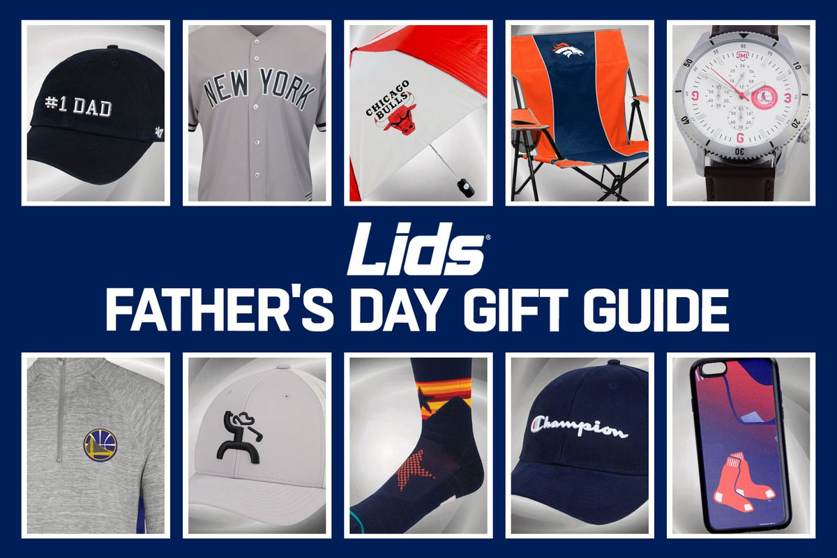 best website 230bd fce72 Fathers Day is approaching and it s probably time to get something for your  dad. For the father that loves sports, Lids has you covered with a ton of  gear.