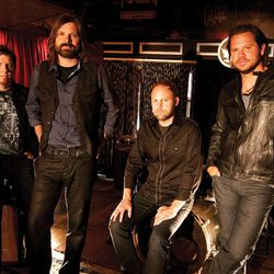 Grammy-winning Third Day — Mark Lee, left, Mac Powell, David Carr and Tai Anderson— will performing May 3 at Abravanel Hall.