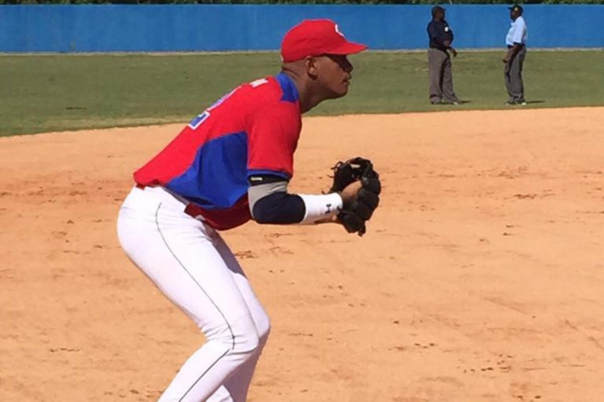 Third base or second base seem the most likely positions for new Dodgers infielder Hector Olivera.