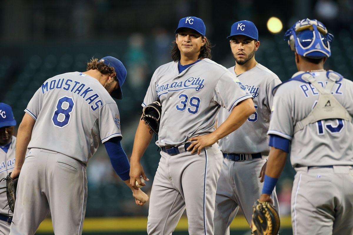 These guys play baseball. (Photo by Otto Greule Jr/Getty Images)