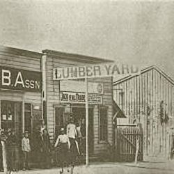 Bountiful Lumber \& Supply Co., shown in 1890, is going out of business. It is one of the longest-running businesses in the county.<BR>