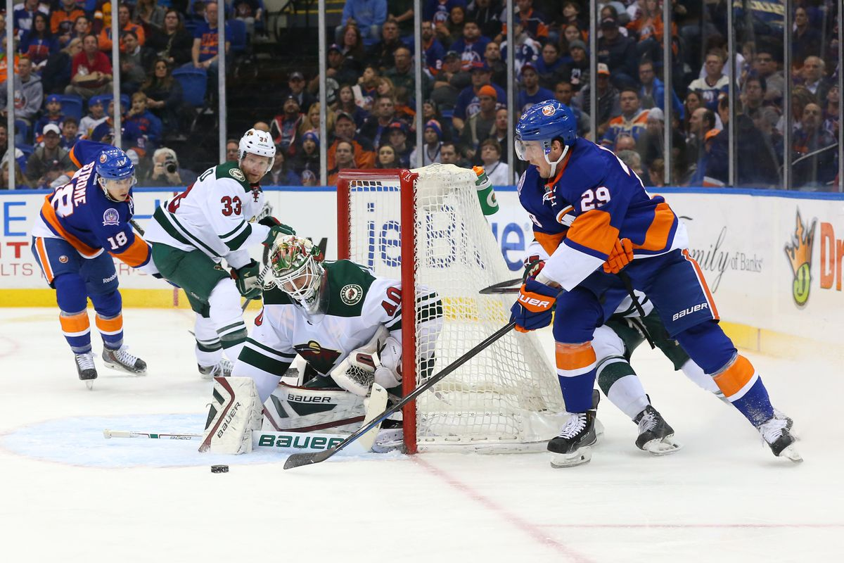 Dubnyk shuts the door.  Over and over and over.....