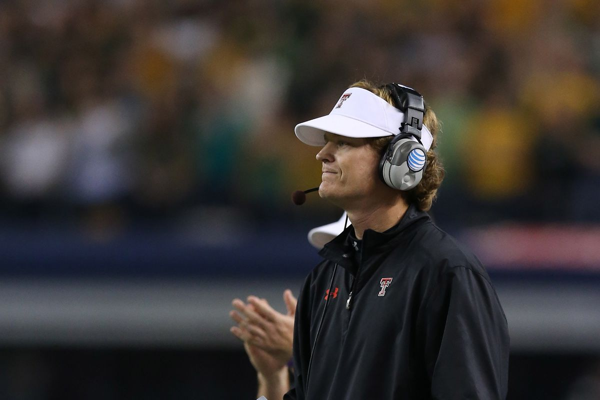 Sonny Cumbie could be headed to TCU to join Doug Meacham as co-offensive coordinators.