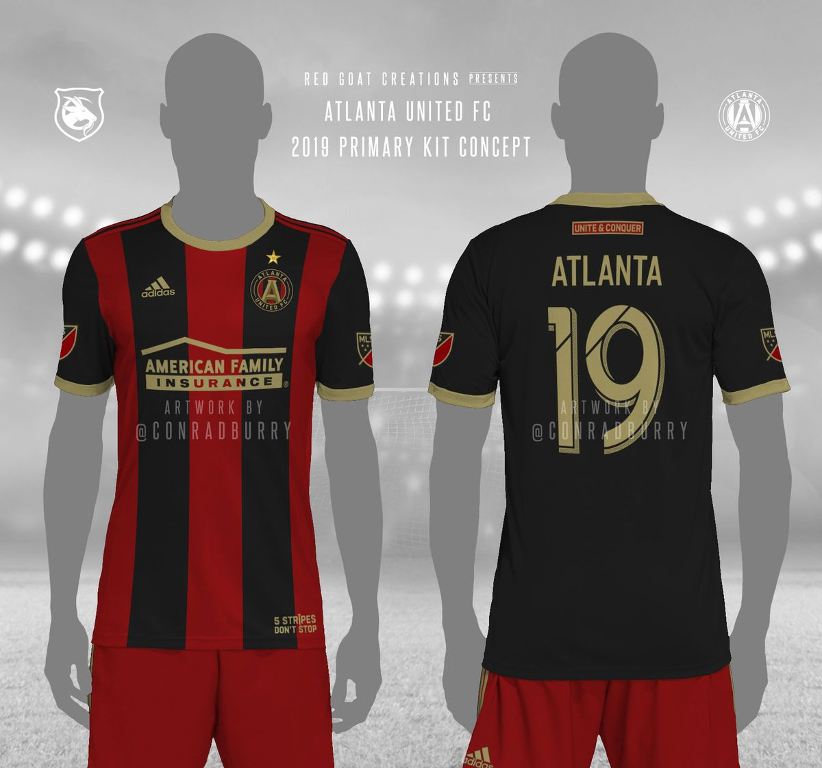 buy cheap 08d3b 4e911 Five of the best Atlanta United home kit design concepts we ...