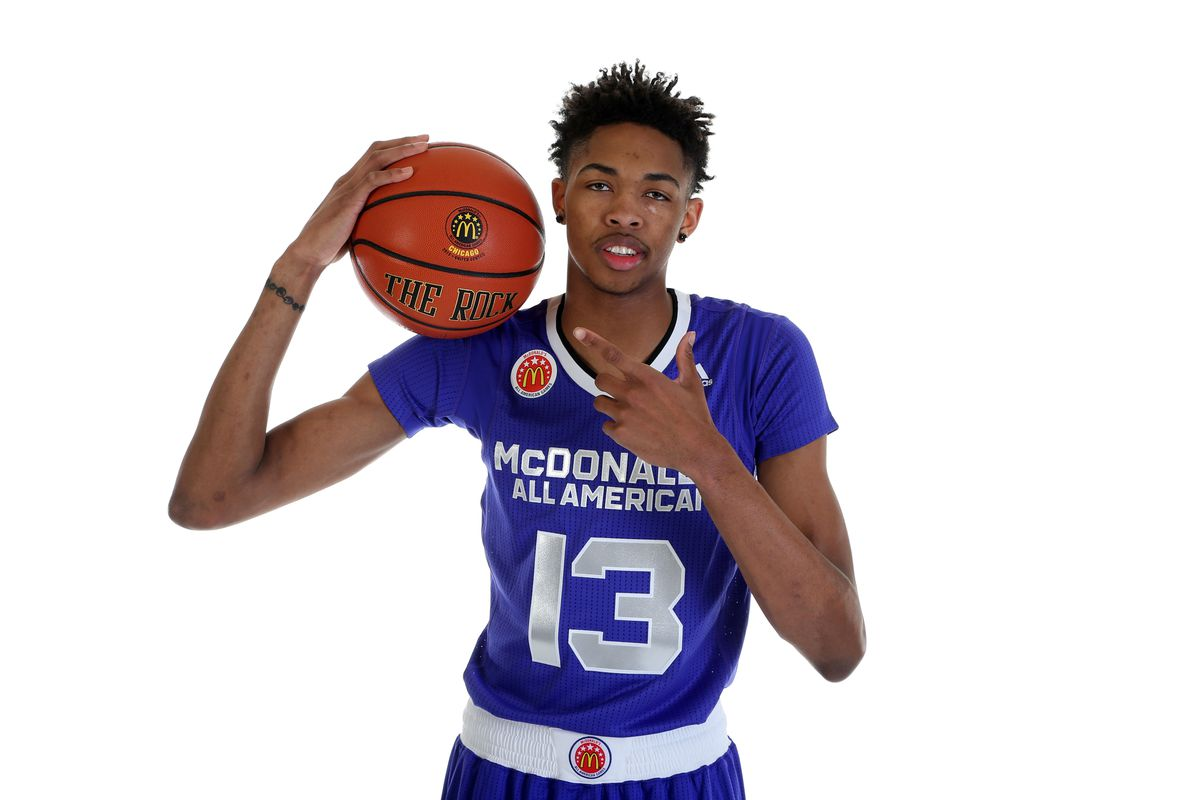 Lakers Rookie Brandon Ingram Says He Never Missed A Free Throw In High School Which Is Weird Because He Missed 105 Sbnation Com