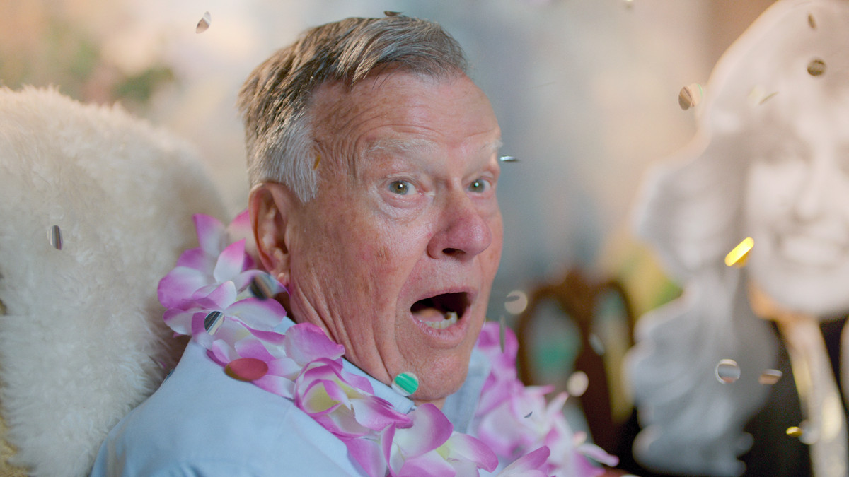 dick johnson makes a face of surprise