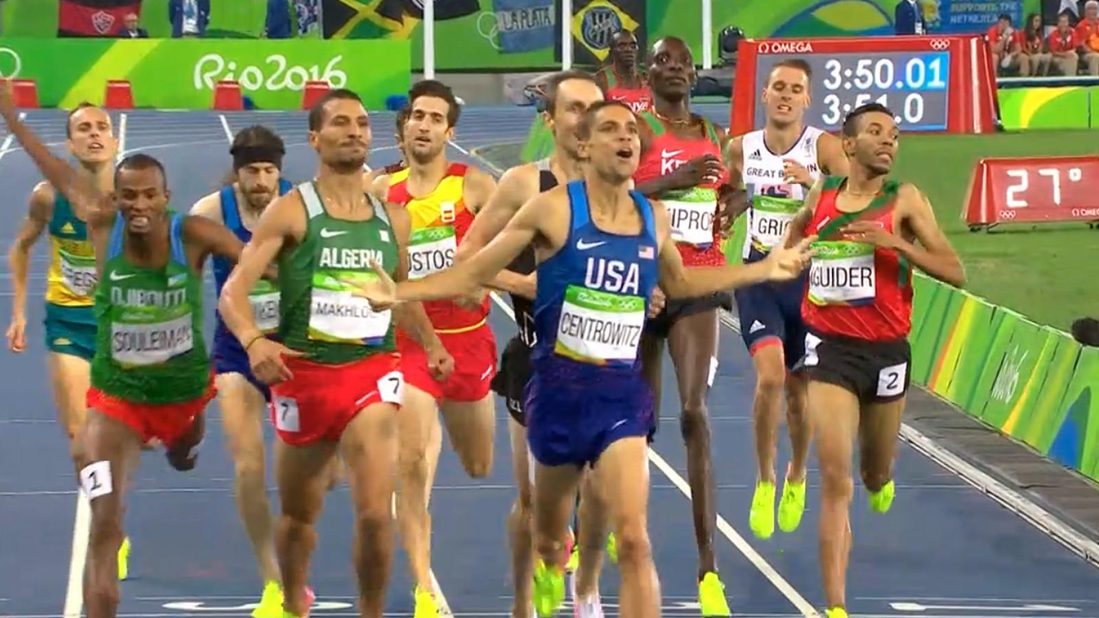 Olympics 2016 Team Usa S Matthew Centrowitz Shocks To Win