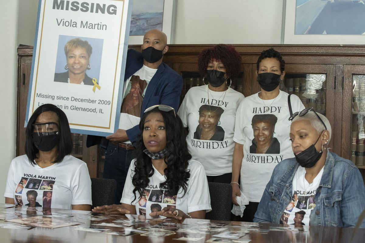 The family of Viola Martin on Wednesday, Sept. 1, 2021, asked the public for any information on her disappearance, she has been missing since 2009.