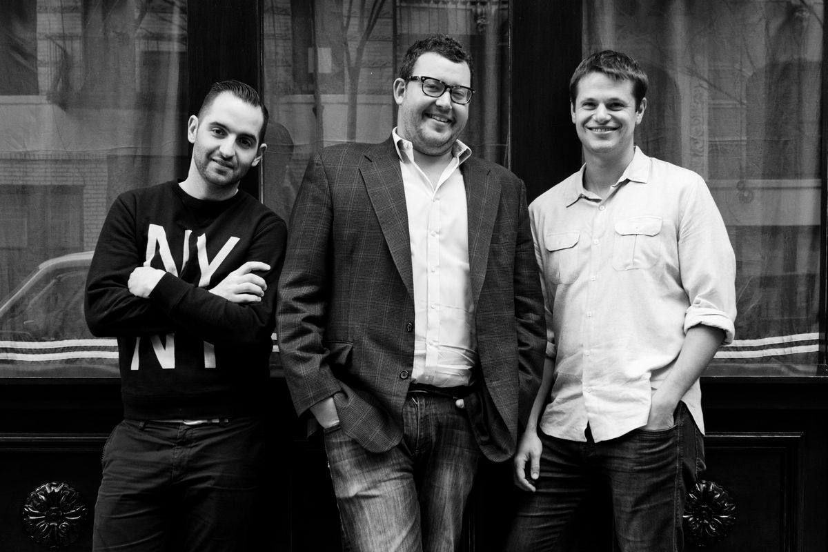 Mario Carbone, Rich Torrisi, and Jeff Zalaznick of Major Food Group are bringing Sadelle's to Las Vegas.