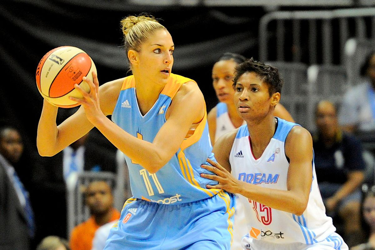 Chicago Sky rookie Elena Delle Donne and Atlanta Dream star Angel McCoughtry will both start for the Eastern Conference.