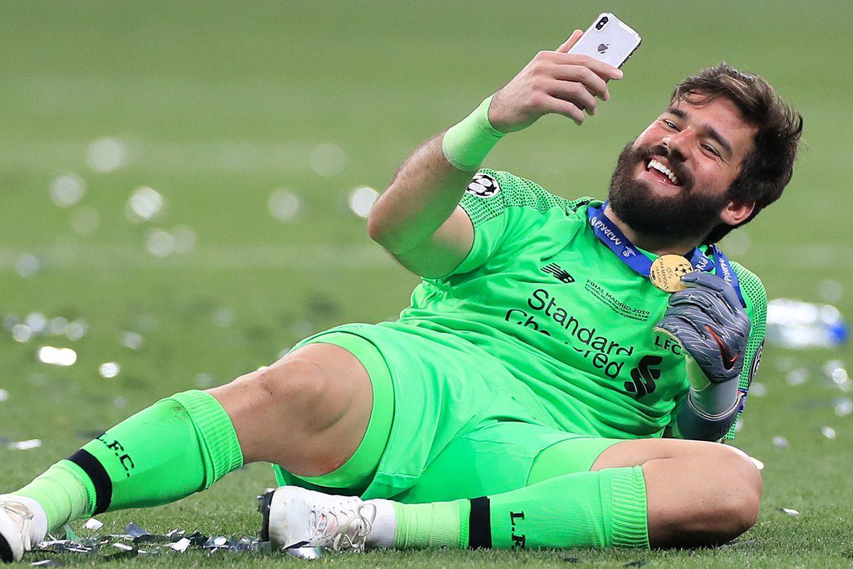 Alisson Becker - Liverpool - UEFA Champions League - Final