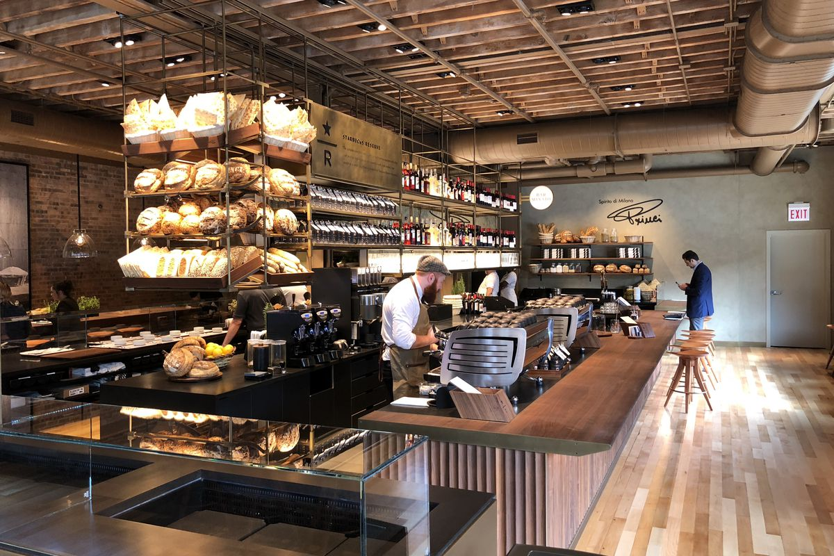 starbucks brings princi the italian bakery to chicago as a bar
