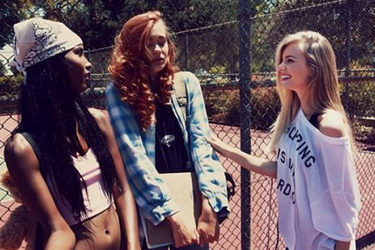 Wildfox's spring 2013 collection, with a photoshoot inspired by Clueless