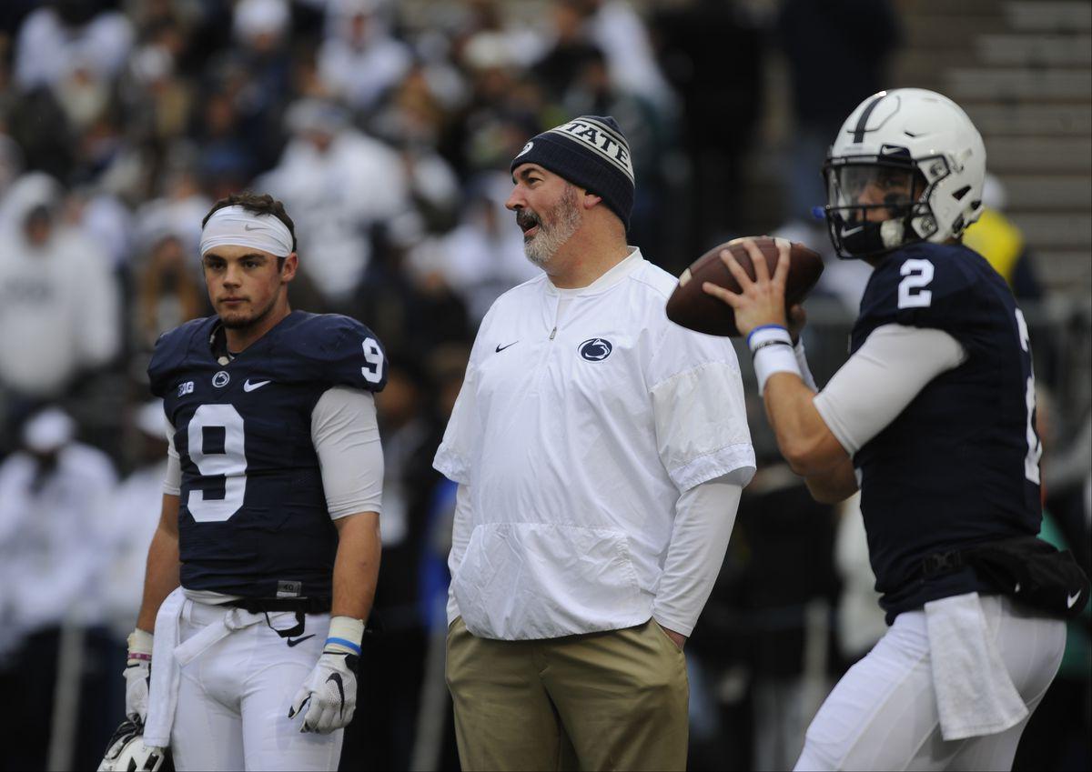 NCAA FOOTBALL: NOV 26 Michigan State at Penn State