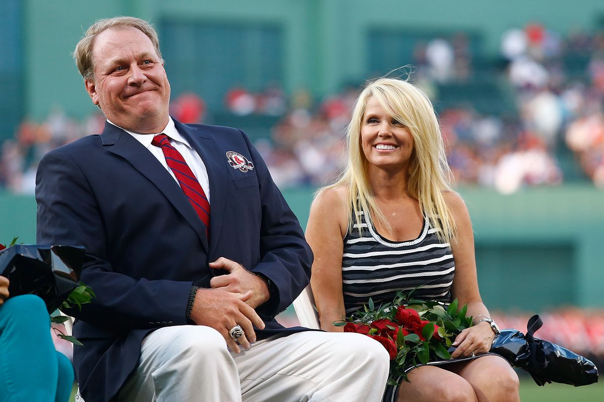 Curt Schilling, pictured here not tweeting.