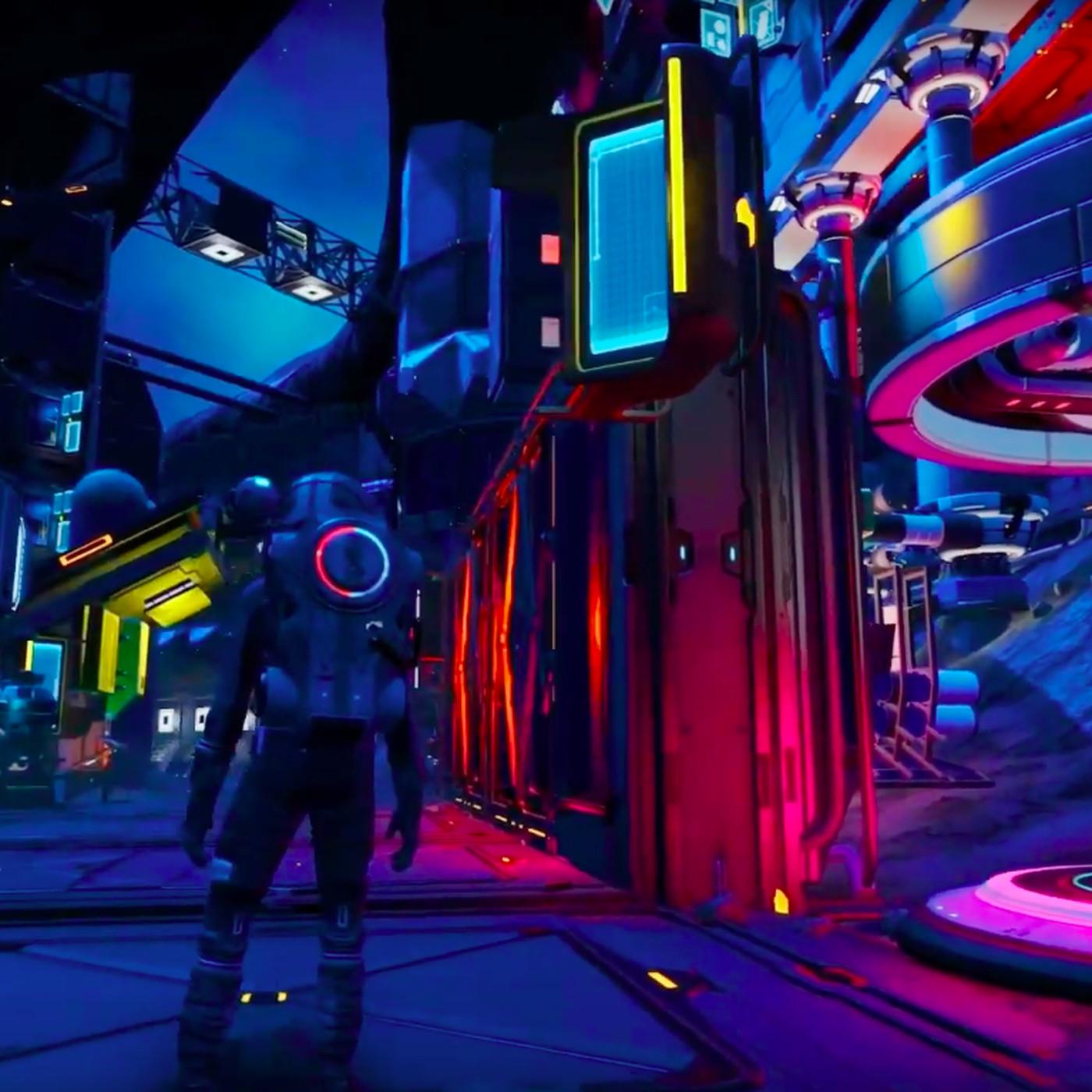 No Man's Sky players build wild cyberpunk city - Polygon on