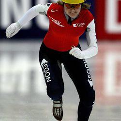 Sanne van Kerkhof, Netherlands, speed skating