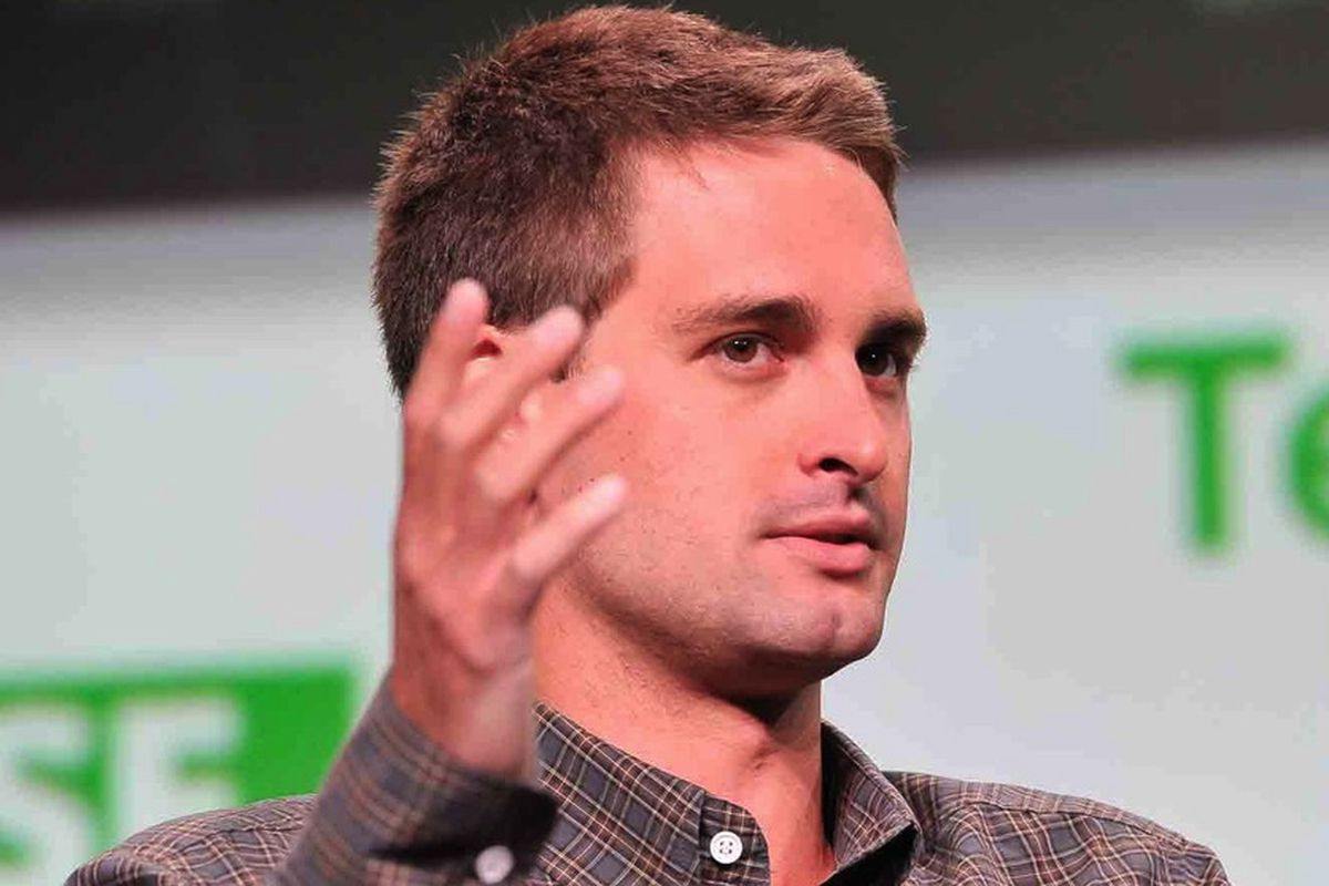 """All the boys want to be Evan Spiegel. Image via <a href=""""http://mashable.com/category/evan-spiegel/"""">Mashable</a>"""