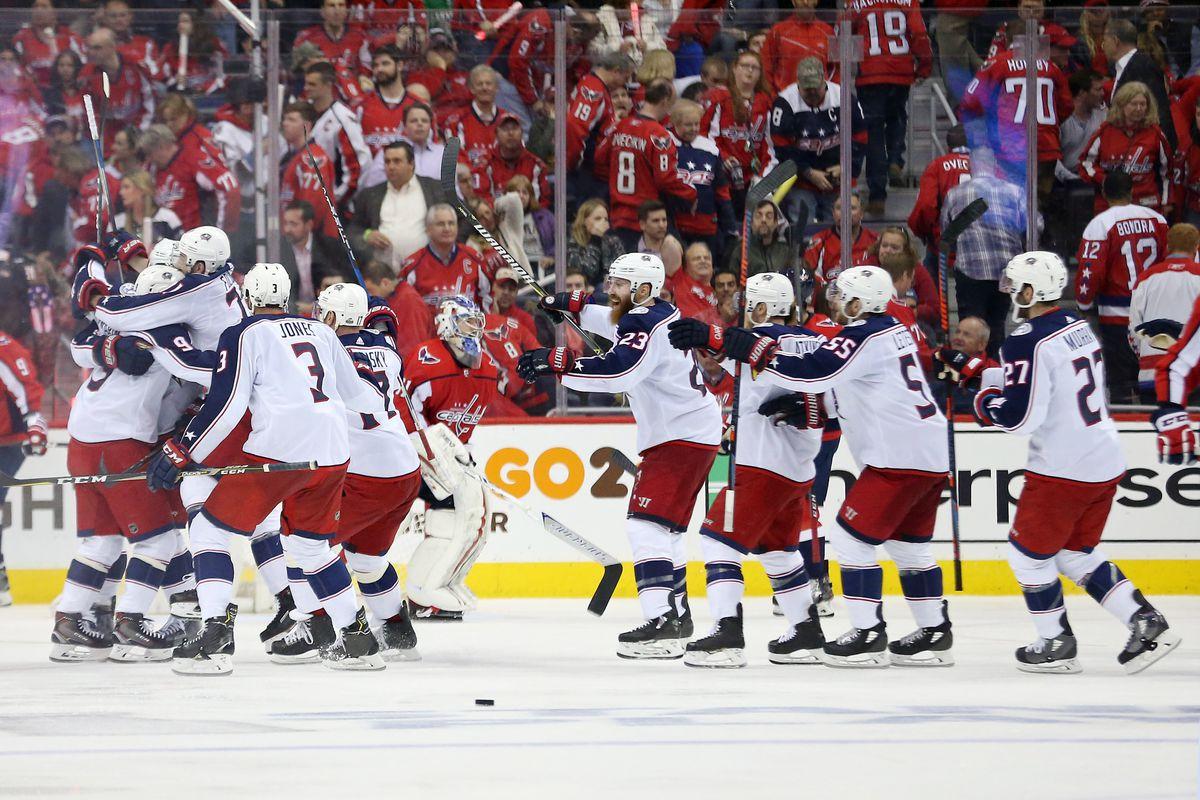 74afa30fd3b NHL playoffs  Blue Jackets beat Capitals