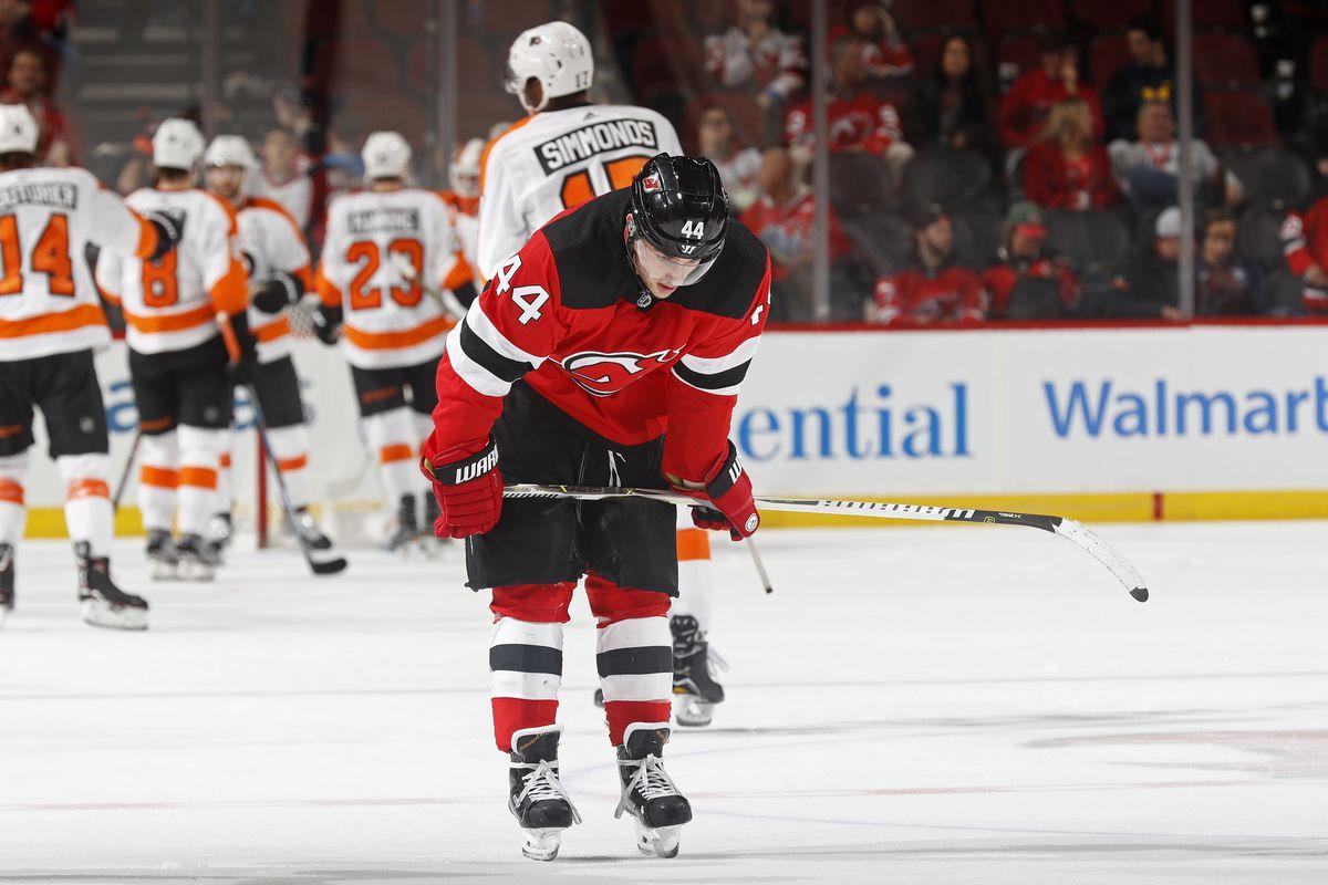 Philadelphia Flyers v New Jersey Devils