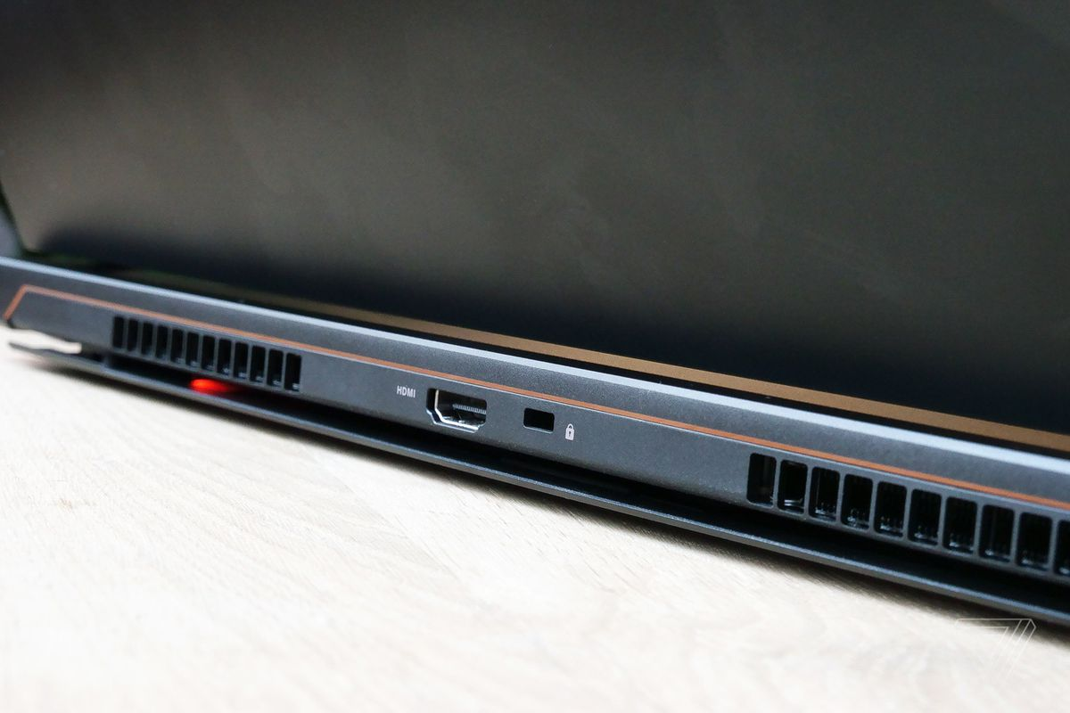 Asus' new Zephyrus S gaming laptop is its thinnest yet, but the
