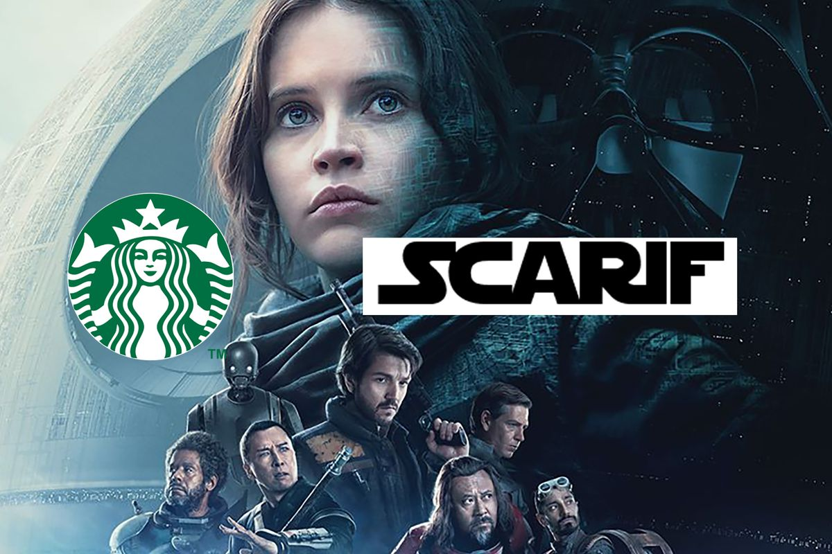 Starbucks Barista Error Becomes Planet In Rogue One A Star Wars