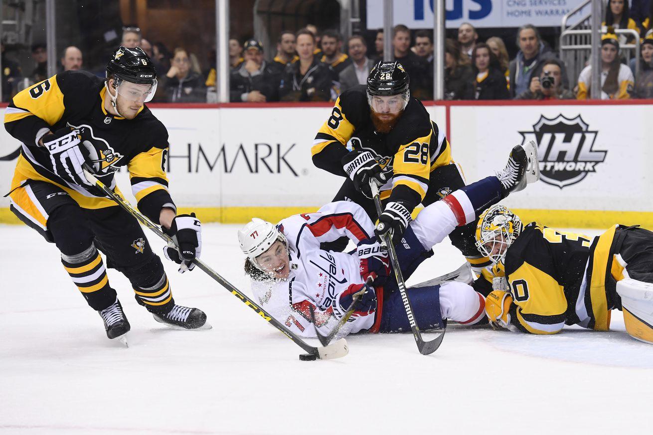 NHL: FEB 02 Capitals at Penguins