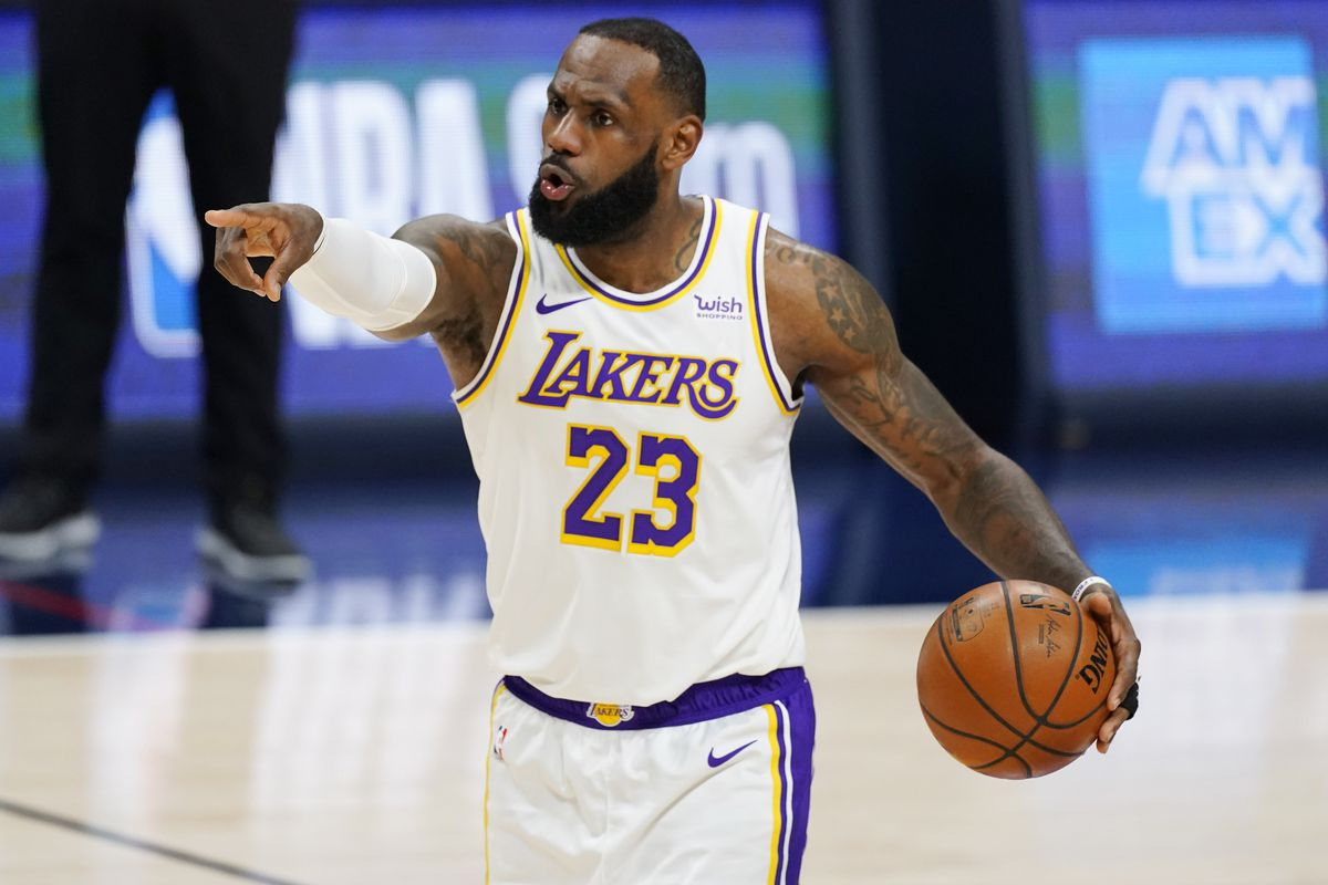 The western captain for the 2021 All-Star Starters, Lebron James