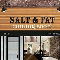 "Salt & Fat coming soon to Queens via <a href=""http://www.zagat.com/buzz/new-restaurant-cuts-to-the-chase-calls-itself-salt-fat"" rel=""nofollow"">Zagat</a>"