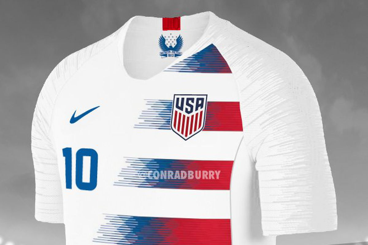 a33c4967781 2018 USA jerseys leaked - Stars and Stripes FC