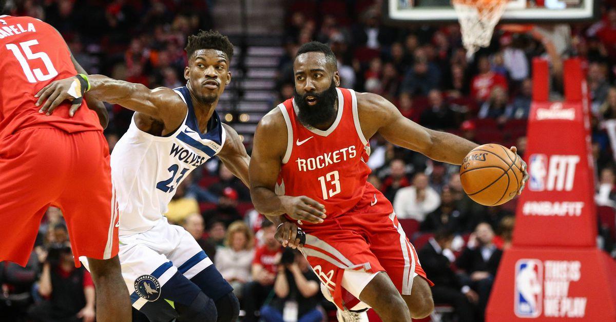 Timberwolves Kalah Lagi Saat Menghadapi  Rockets Di Game Ke 4