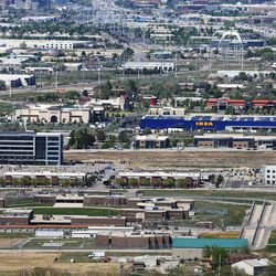 A Divvy project by Boyer at 136 Center, in Draper just off of I-15 and Bangerter Highway on Monday, May 4, 2020. Impact of COVID-19 and containment measures on commercial real estate markets .