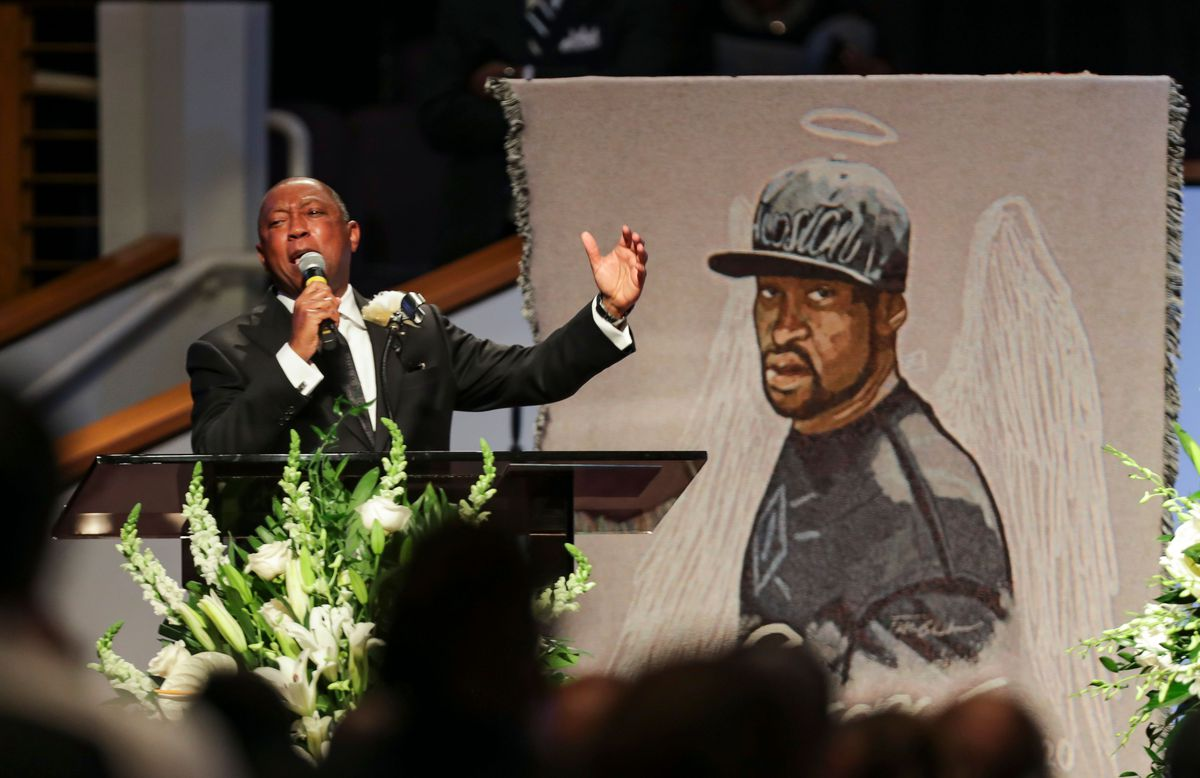 George Floyd was remembered by family, activists, and politicians at his funeral in Houston