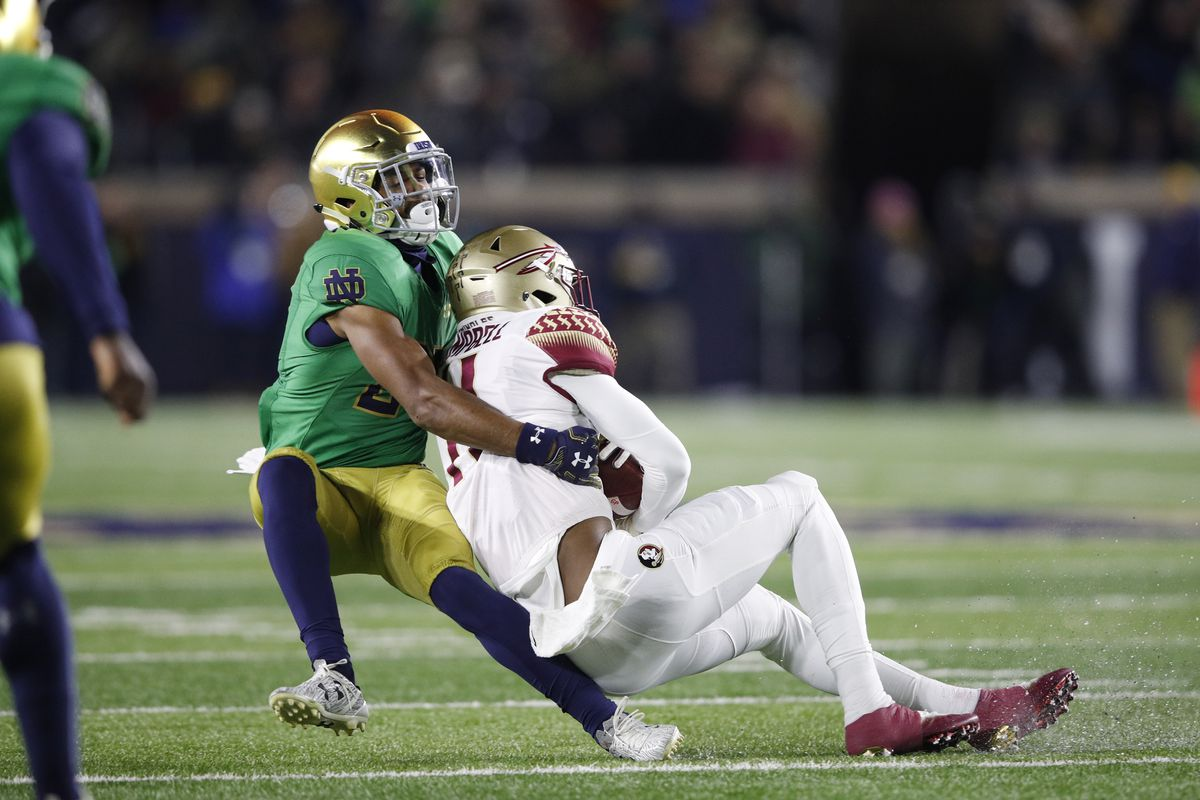 12e1647bc Syracuse vs. Notre Dame preview  Q A with One Foot Down - Troy Nunes ...