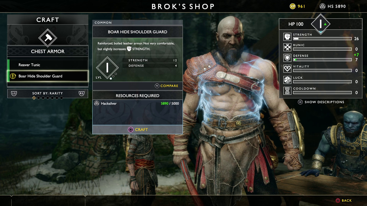 God Of War Ps4 Preview Hands On With The Spectacular First