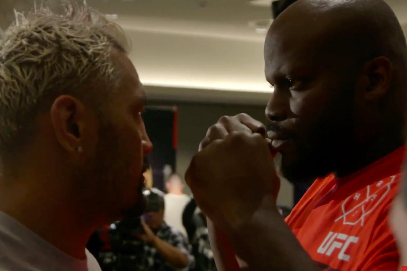 UFC Fight Night 110 media day staredowns