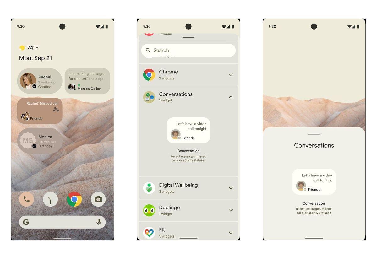 Primer vistazo al nuevo sistema operativo Android 12 de Google