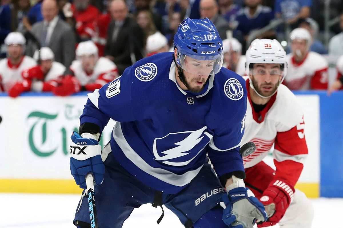 Tampa Bay Lightning At Detroit Red Wings Will We See A Goalie S Nhl
