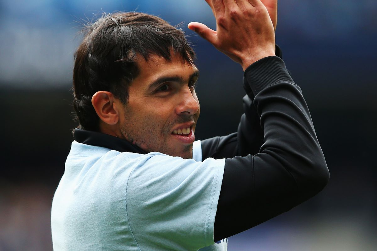 Having said his farewell to City fans Tevez is off looking for a new club this summer.