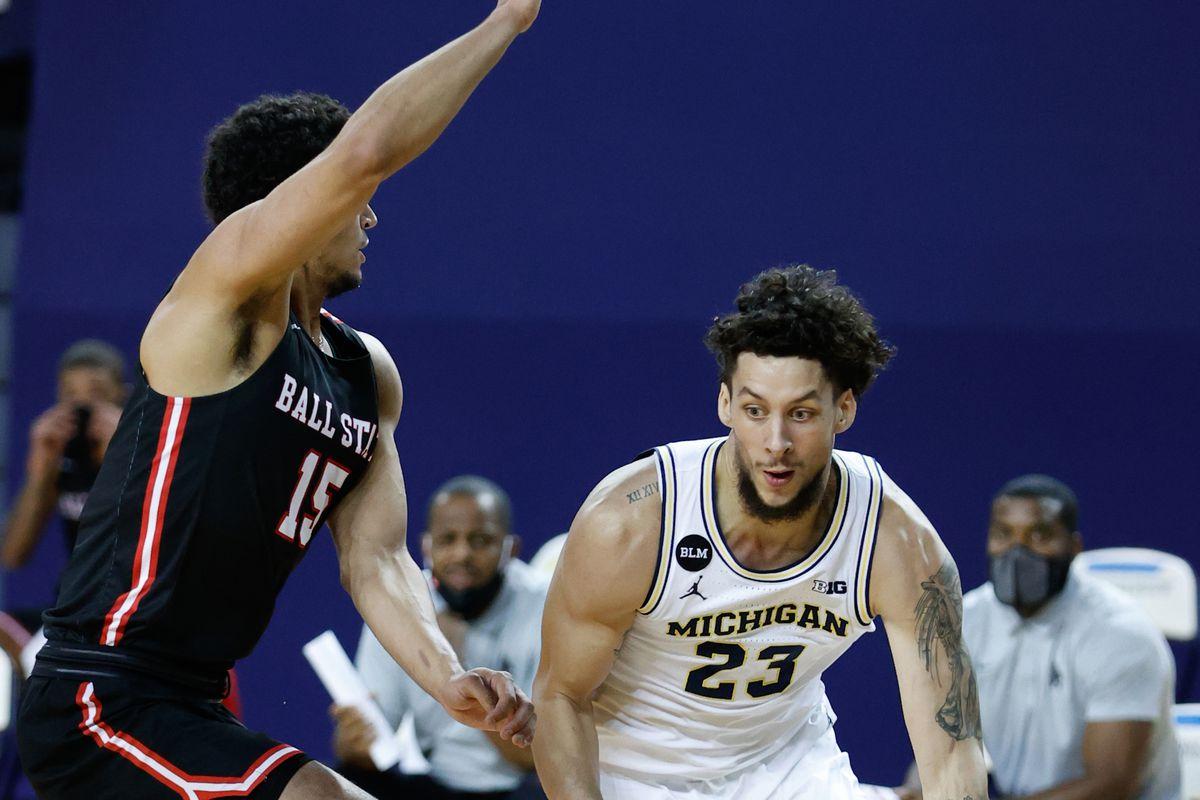NCAA Basketball: Ball State at Michigan