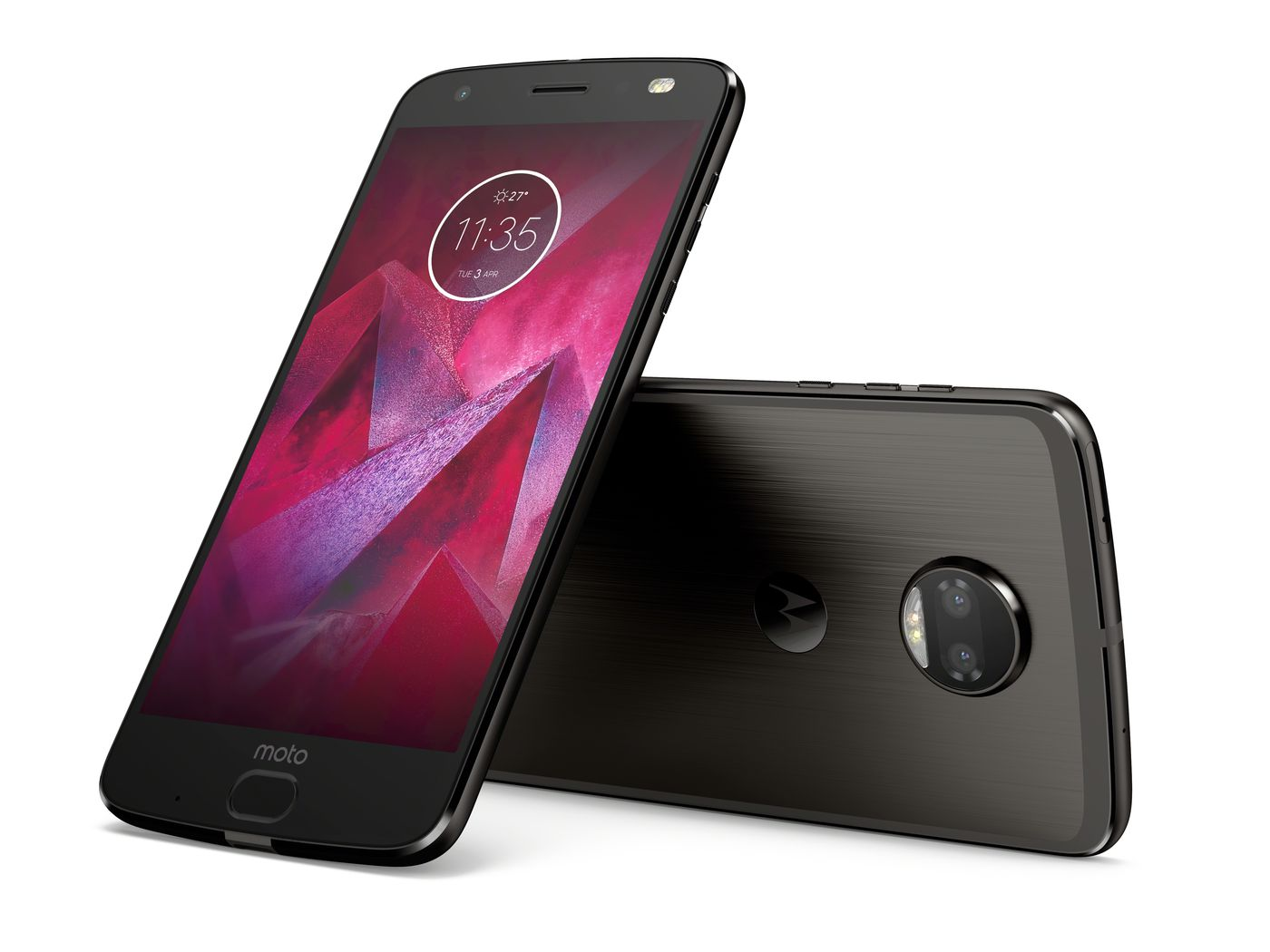 new product 68846 e4c64 The Moto Z2 Force doubles the cameras, keeps the shatterproof screen ...
