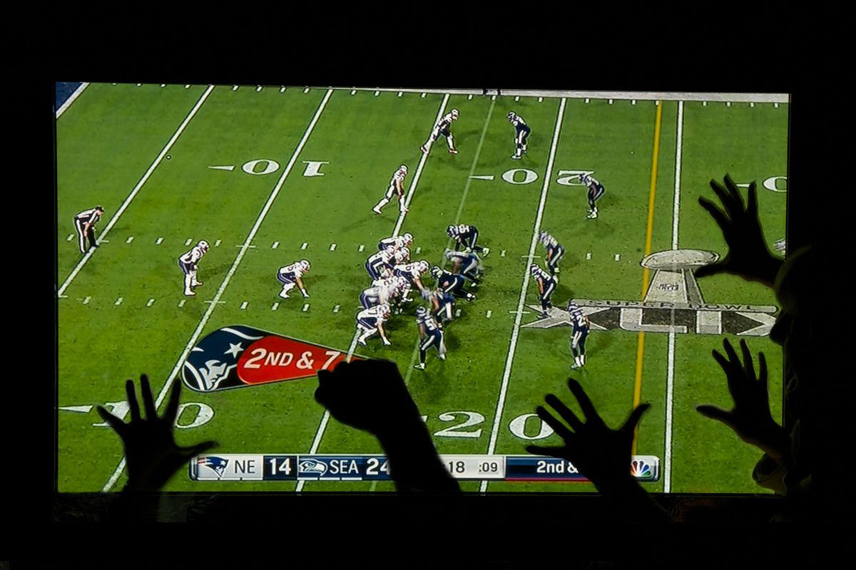 Watching The Super Bowl