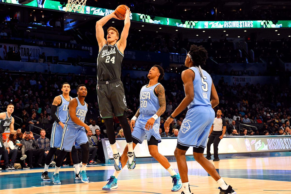 Lauri Markkanen shines with 21 points in 2019 Rising Stars ...