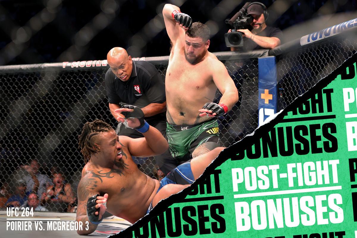 UFC 264, Tai Tuivasa