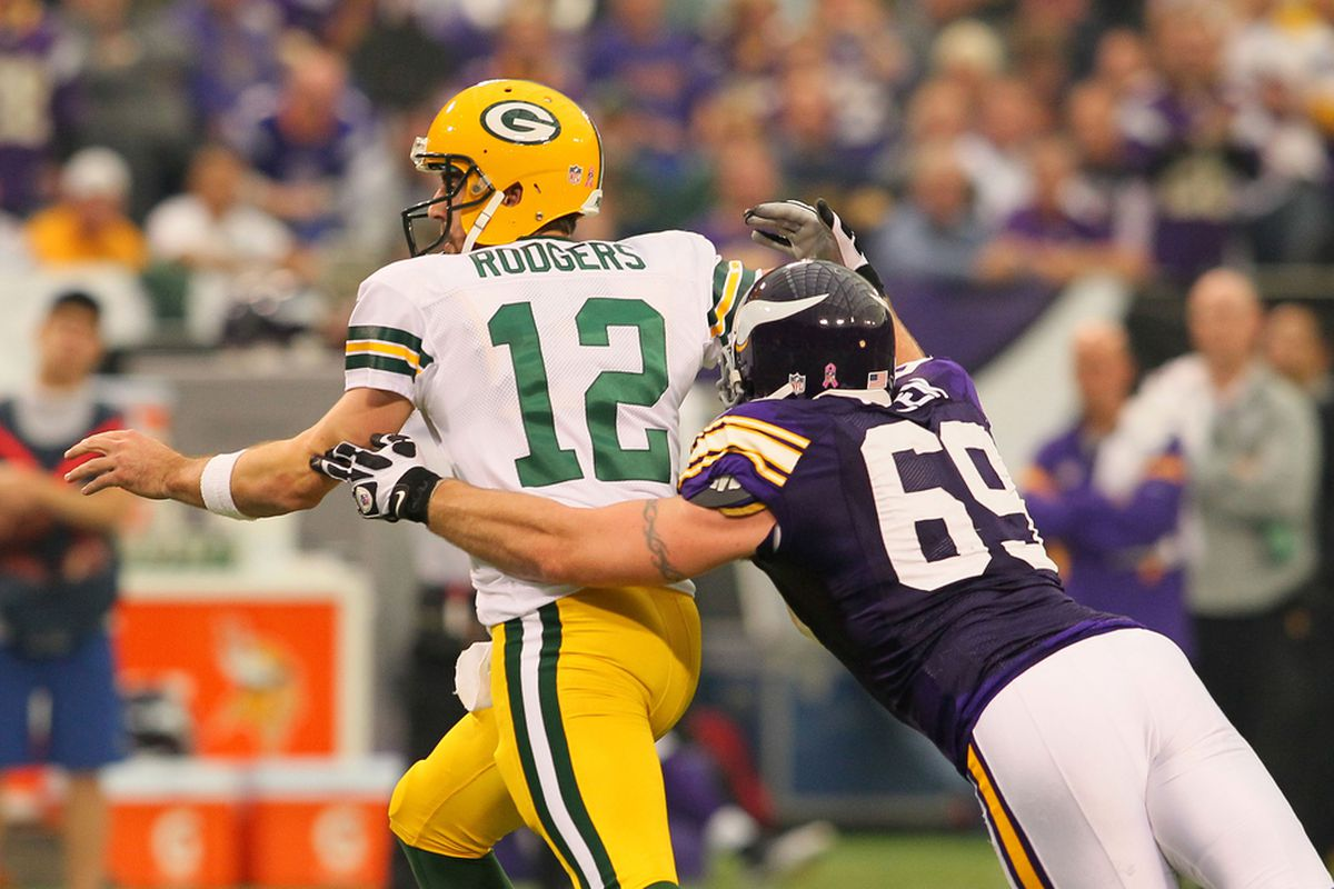 Jared Allen Was Very Good In Their Last Meeting Acme Packing Company