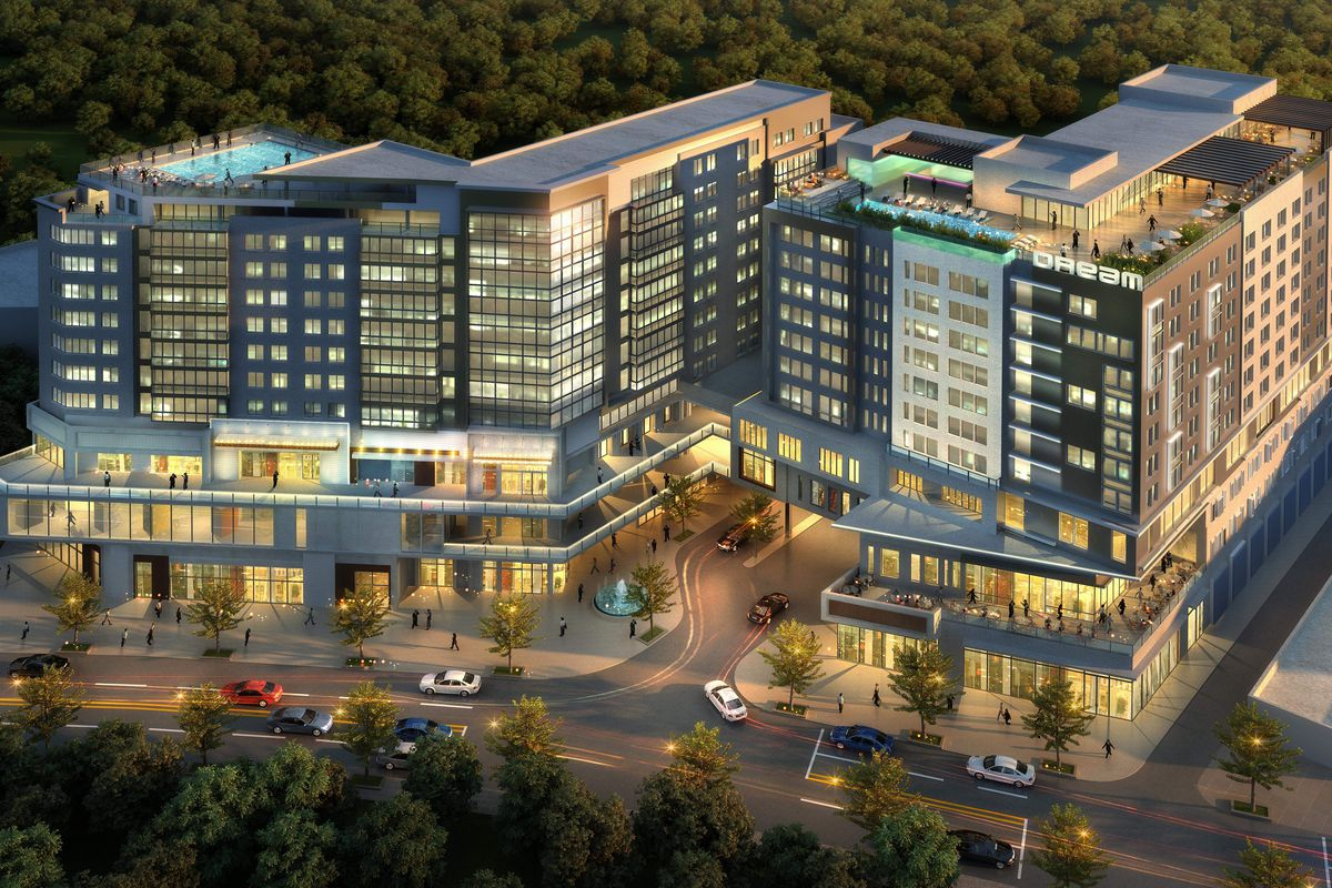 Cooper Carry Renderings Courtesy Of Dream Hotel Group